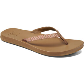Reef Cushion Bounce Woven Slides Women, natural